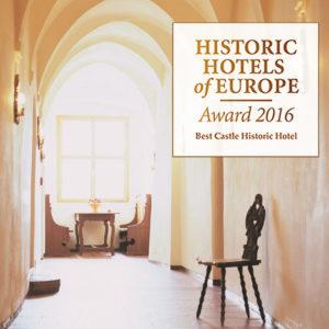 Best Castel Historic Hotel of Europe – Award 2016 – 1.PREIS